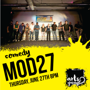 Mod 27 Improv at Arts Garage